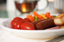 Free Breakfast Close Up Stock Photography - 510962