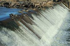 Free Big Blue Dam Royalty Free Stock Photography - 511827