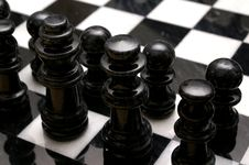 Free Chess Board Royalty Free Stock Photography - 512947