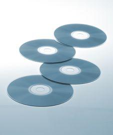 Blank CDs Stock Photos