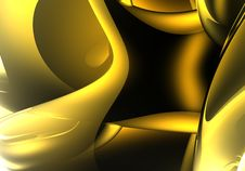 Free Golden Dream (abstract) 05 Royalty Free Stock Photography - 514457