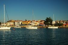 Free Outer Yacht Harbor, Novigrad Royalty Free Stock Photos - 514718