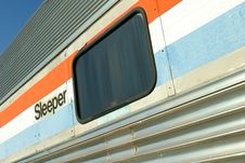Free Sleeper Car Royalty Free Stock Photography - 514927