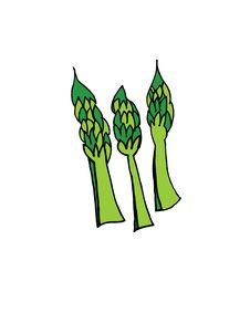Free Vegetable Asparagas Stock Photos - 516083