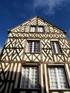 Free Rural French House Royalty Free Stock Photography - 518037