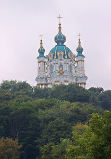Free St.Andrey Church Stock Image - 518641