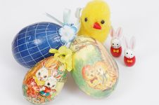 Free Easter Decorations Royalty Free Stock Image - 519396
