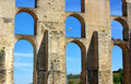Free Aqueduct  In Old City Of Elvas. Royalty Free Stock Images - 5106409