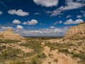 Free Bluffs Framing Blue Sky Royalty Free Stock Image - 5106646
