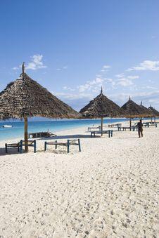 Free Beach At Zanzibar 2 Royalty Free Stock Images - 5100019