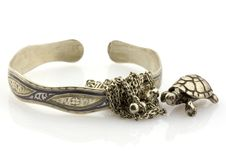 Free Silver Possessions, Isolated Royalty Free Stock Images - 5100169