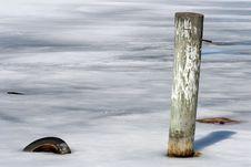 Free Winter At The Marina Royalty Free Stock Photo - 5100375