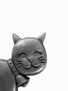 Free Metallic Cat Stock Photography - 5100532
