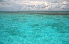 Free Turquoise Caribbean Scene Royalty Free Stock Images - 5101979