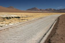 Free Altiplano Road Stock Photography - 5102242