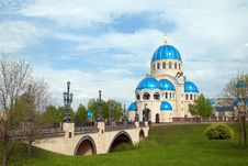 Free Russian Orthodox Church Stock Photography - 5102652
