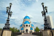 Free Russian Orthodox Church Royalty Free Stock Photos - 5102678