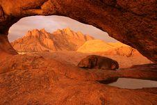 Free Spitzkoppe Rocks At Sunset Stock Photo - 5103140