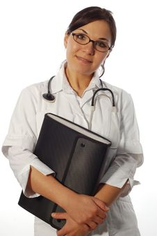Free Female Doctor Royalty Free Stock Photos - 5103618