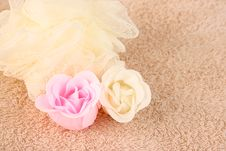 Free Soap Flowers Stock Image - 5103661