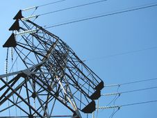 Free Power Line Royalty Free Stock Photography - 5103697
