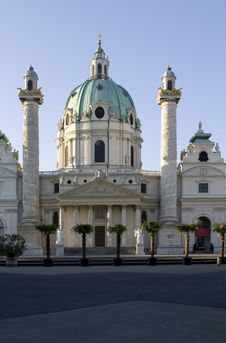 Free Charles Church, Vienna Stock Photography - 5103992