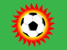 Free Football Sun Stock Photo - 5104050