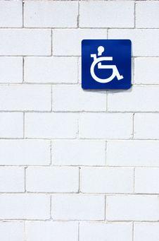 Free Warning Disabled Stock Photo - 5104090