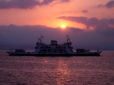 The Ferry Royalty Free Stock Images