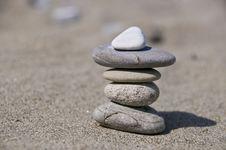 Balancing Stone Stock Photo