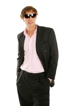 Free Young Businessman In Sunglasses Royalty Free Stock Photography - 5105487