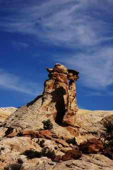 Free Red Rock San Rafael Swell Stock Images - 5105744