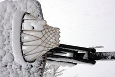 Free Basket Full Of Snow Stock Images - 5106944