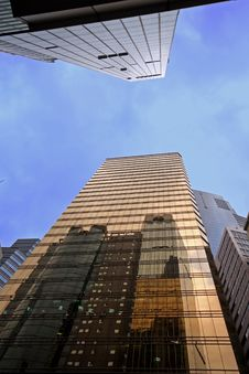 Hong Kong Buildings Stock Image