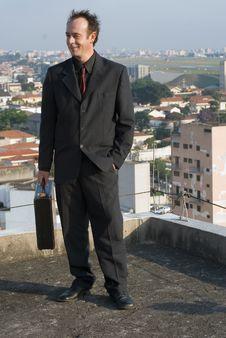 Free Confident Businessman Royalty Free Stock Photos - 5107508