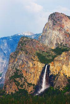 Free Bridalveil Fall In Yosemite Stock Photography - 5107512