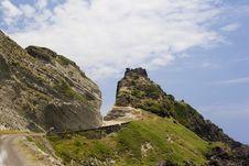 Free Road Through The Mountain Royalty Free Stock Image - 5108186