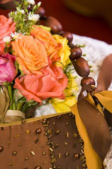 Free Flowers And Bag Stock Images - 5108394