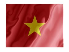 Free Vietnam Fluttering Stock Images - 5108494