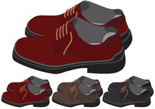Free Shoes In Different Color Royalty Free Stock Photos - 5108698