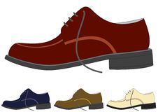 Free Shoes In Different Color Stock Photos - 5108803