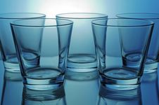 Free Group Of Glasses Royalty Free Stock Photos - 5108908