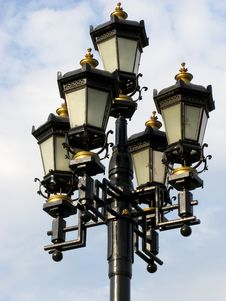 Free Old Black Street Lamp Stock Photo - 5109010