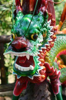 Free Dragon Statue Royalty Free Stock Photos - 5109298