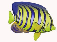 Free Cartoon Angelfish Royalty Free Stock Photos - 5109528