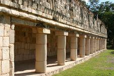 Free Mayan Columns Stock Image - 5109751