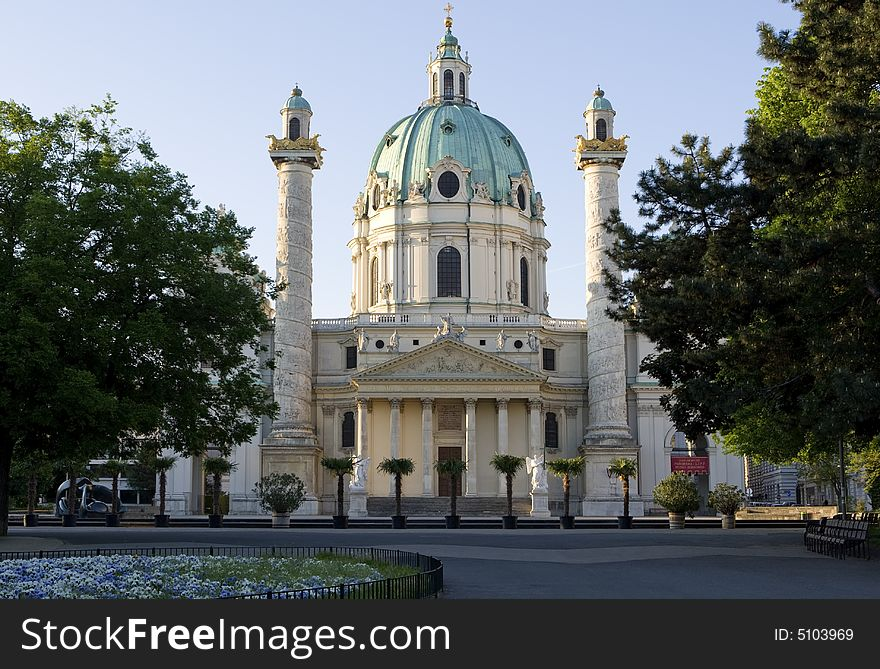 Charles Church, Vienna