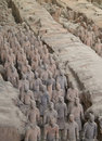 Free Terra-cotta Warriors Stock Photography - 5111362