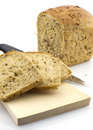 Free Cut Rye Bread Loaf, Isolated Royalty Free Stock Images - 5117689