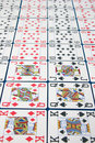Free Lines Of Pokercards Stock Photography - 5119702